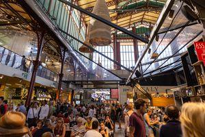 Mercato Centrale, San Lorenzo Market, Florence, Italy