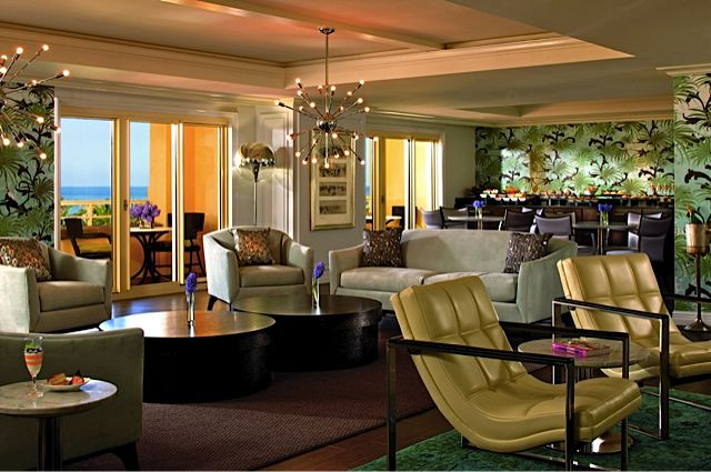 Club Floor Lounge At Eau Pal Beach Resort In South Florida