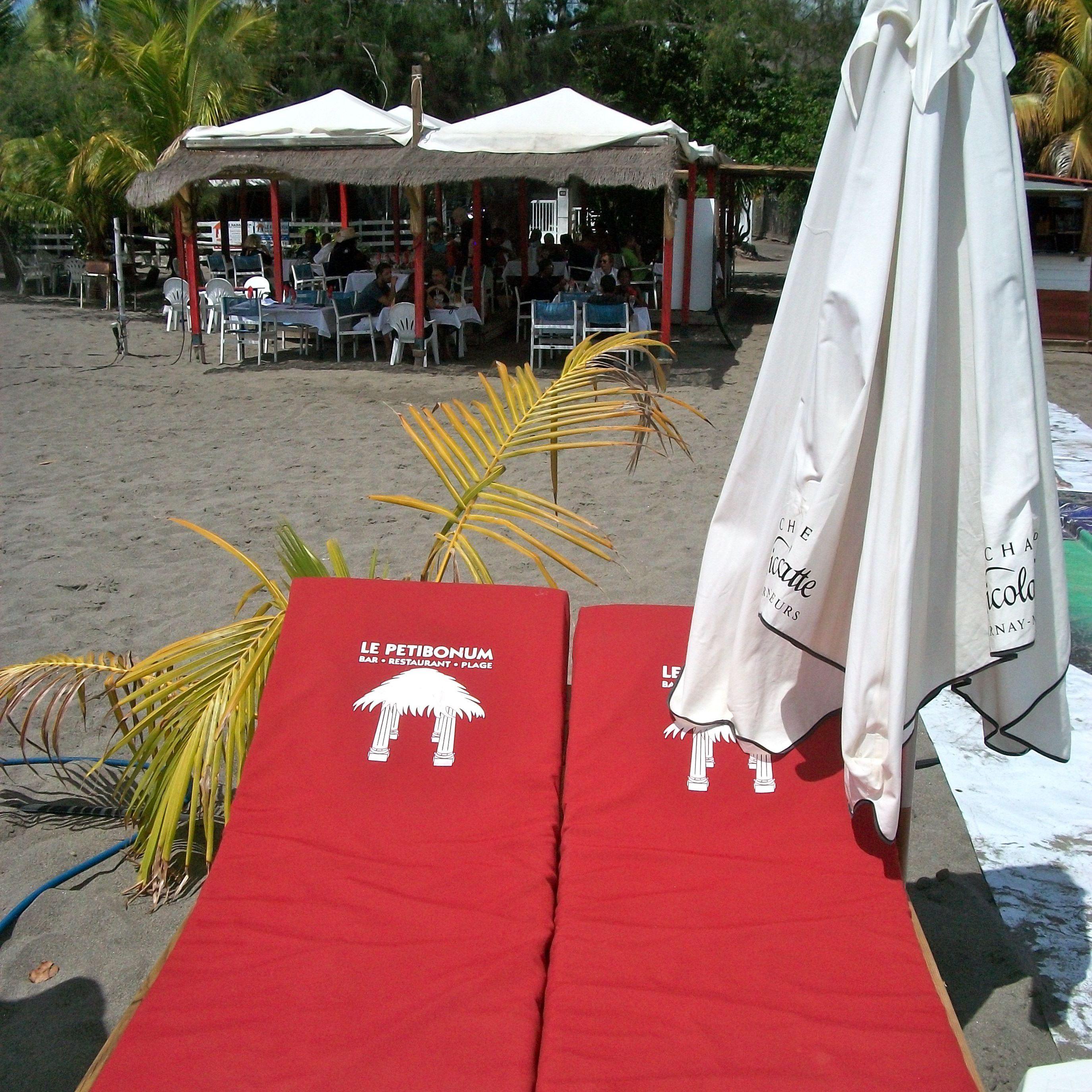 Le Petibonum Beach Bar, Martinique