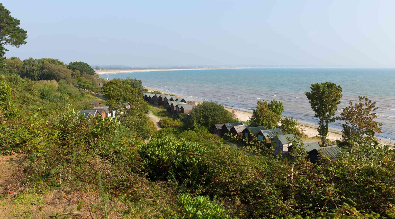 Studland bay Dorset England UK near Swanage and Poole