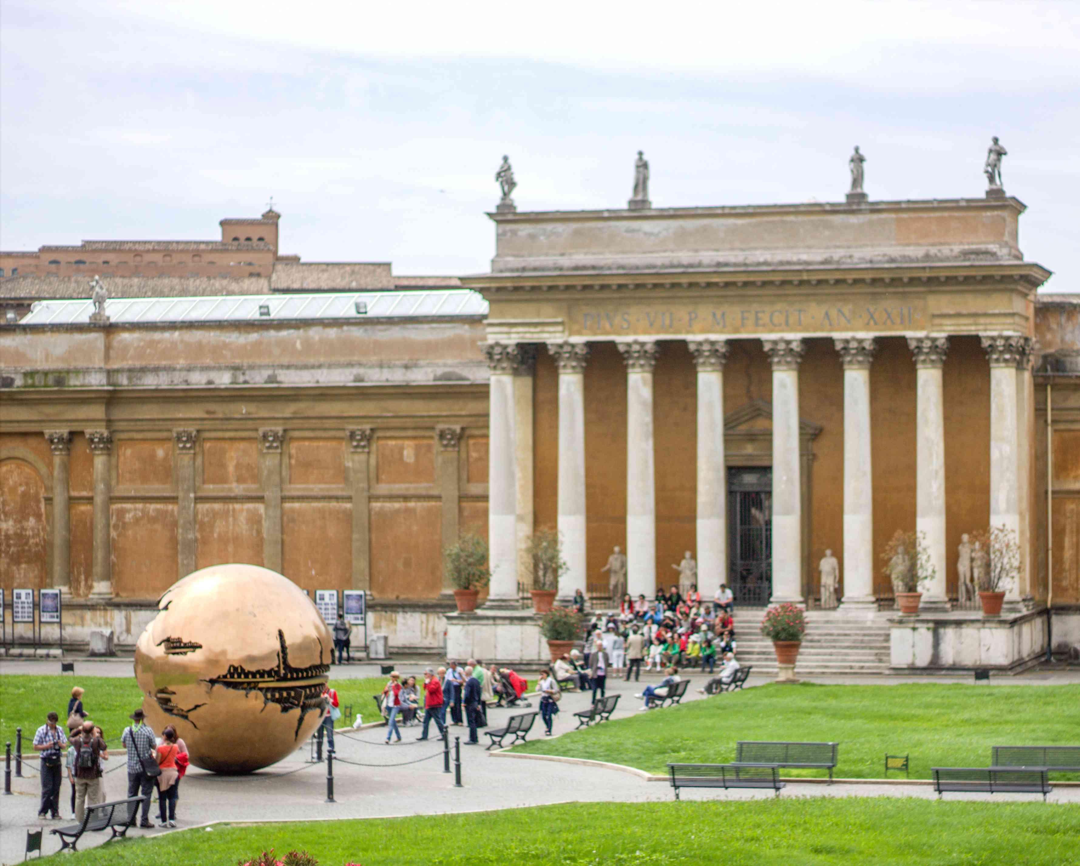 Exterior del Museo del Vaticano