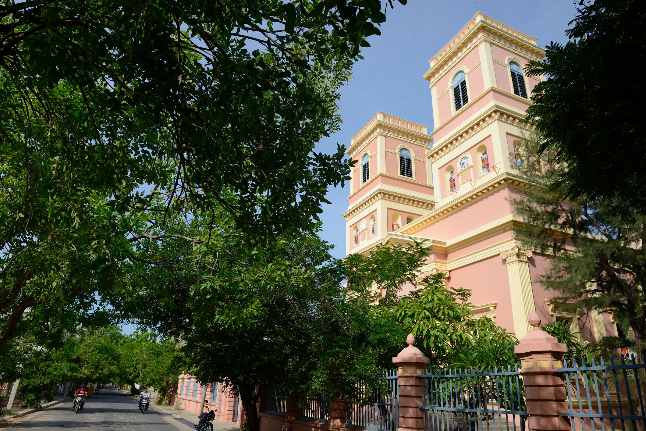 Eglise de Notre Dame des Anges (The Church of Our Lady of Angels) in Pondicherry