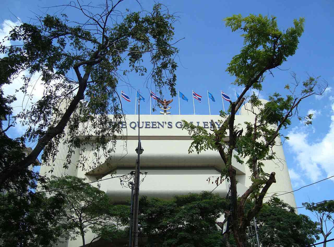 The Queen's Gallery, Bangkok, Thailand.