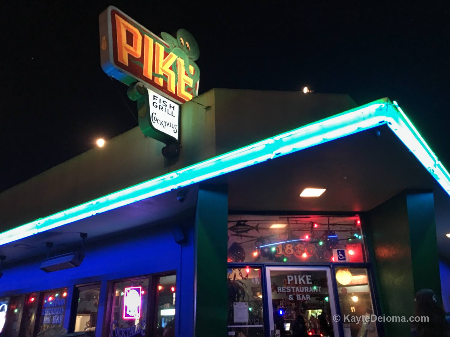Pike Fish Grill & Cocktails on 4th Street in Long Beach