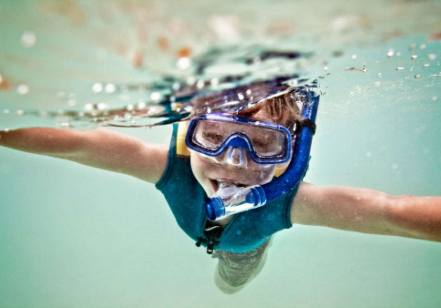 How To Teach Young Kids to Snorkel