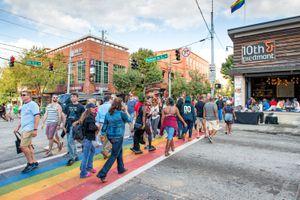 Midtown Pride Crossing