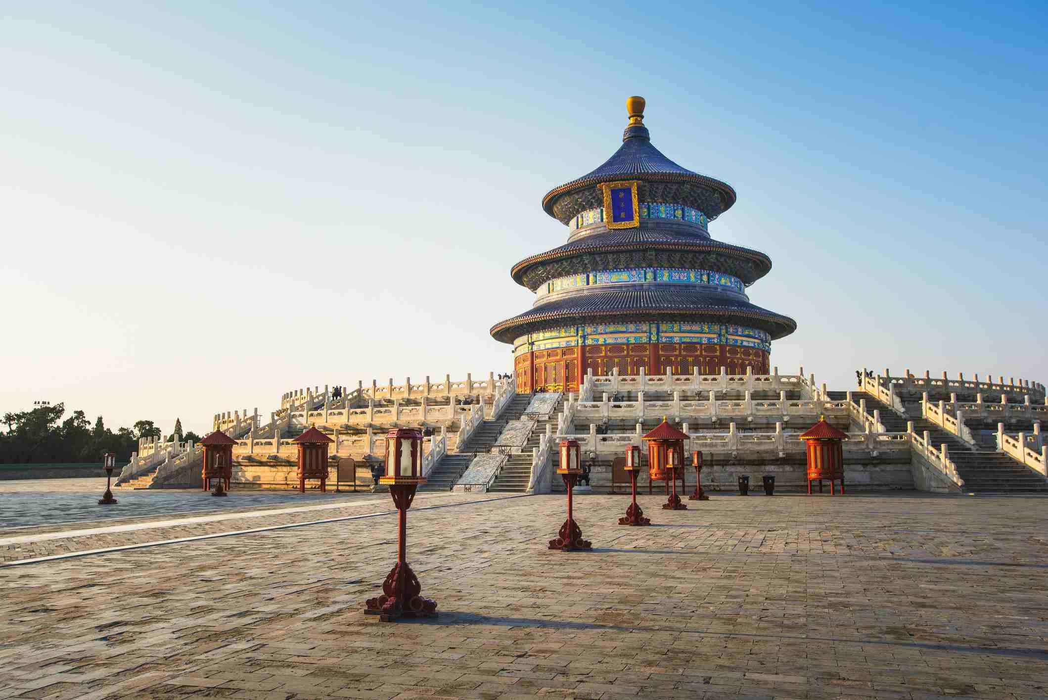 Temple of heaven,Beijing,China