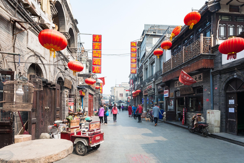 Dashilan, a shopping hutong in Beijing