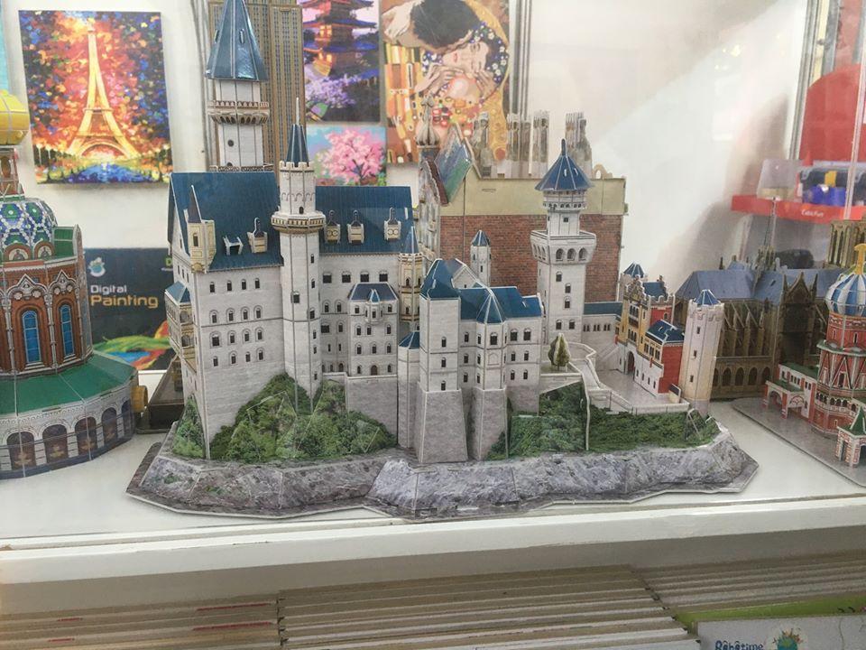 Castle at Mini Mundo