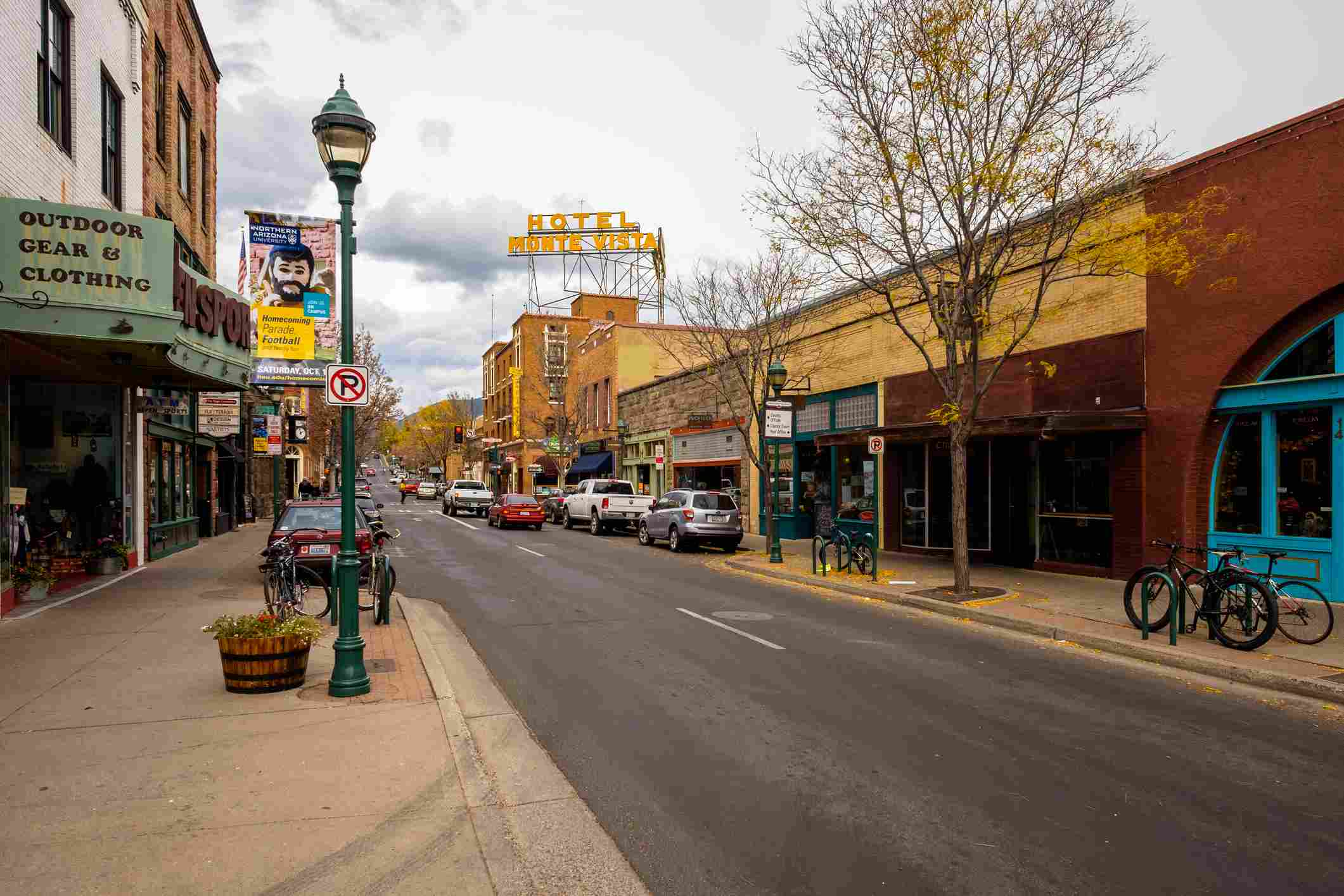 Downtown Flagstaff Cityscape