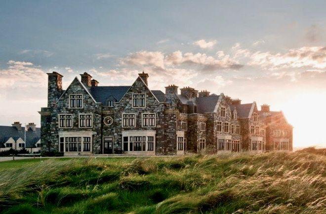 Trump Golf Resort in Doonbeg, Ireland