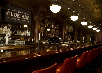 Interior of the Olde Bar