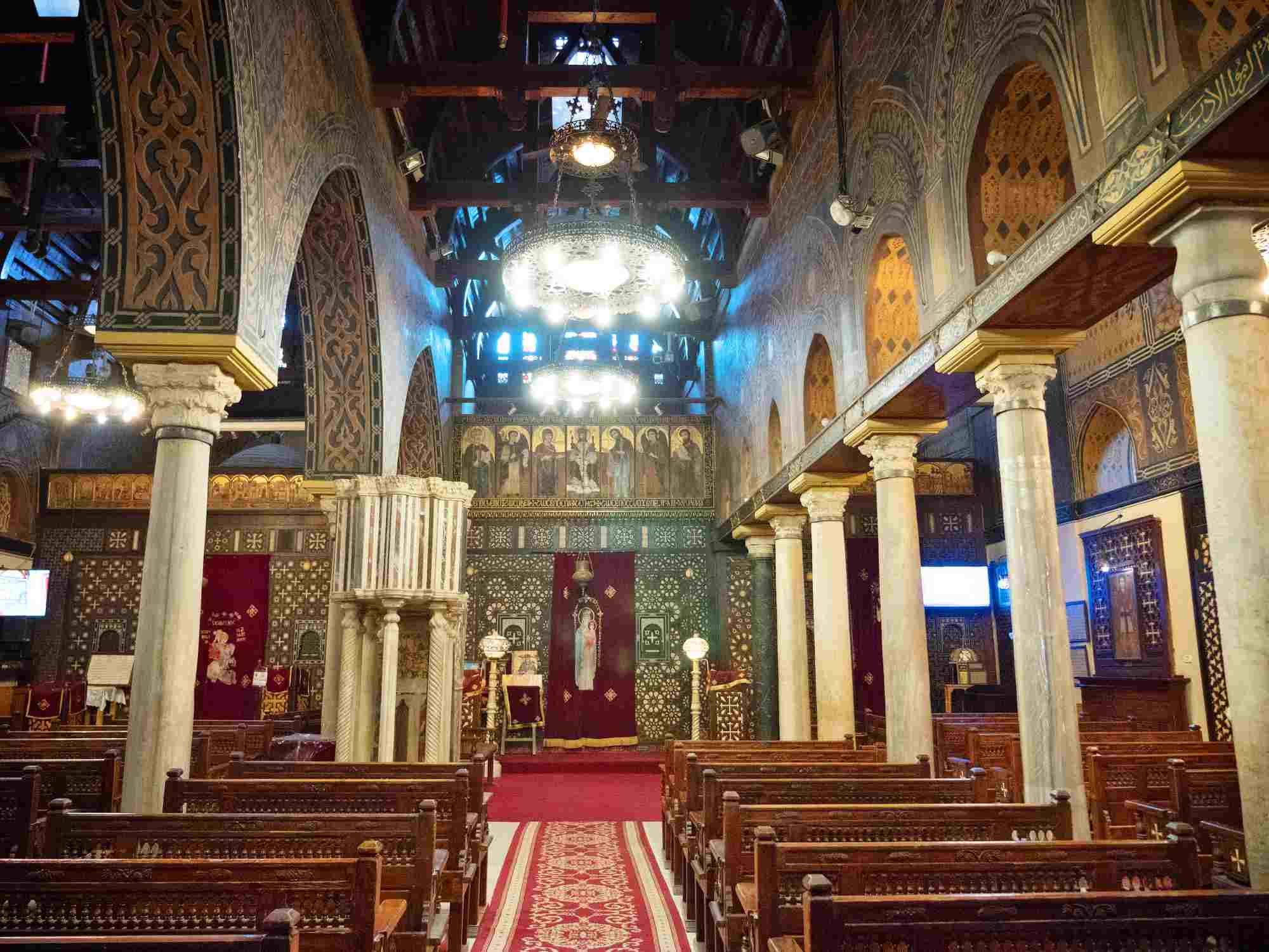The Hanging Church in Cairo, Egypt