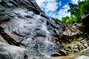 Hickory Falls at Chimney Rock State Park