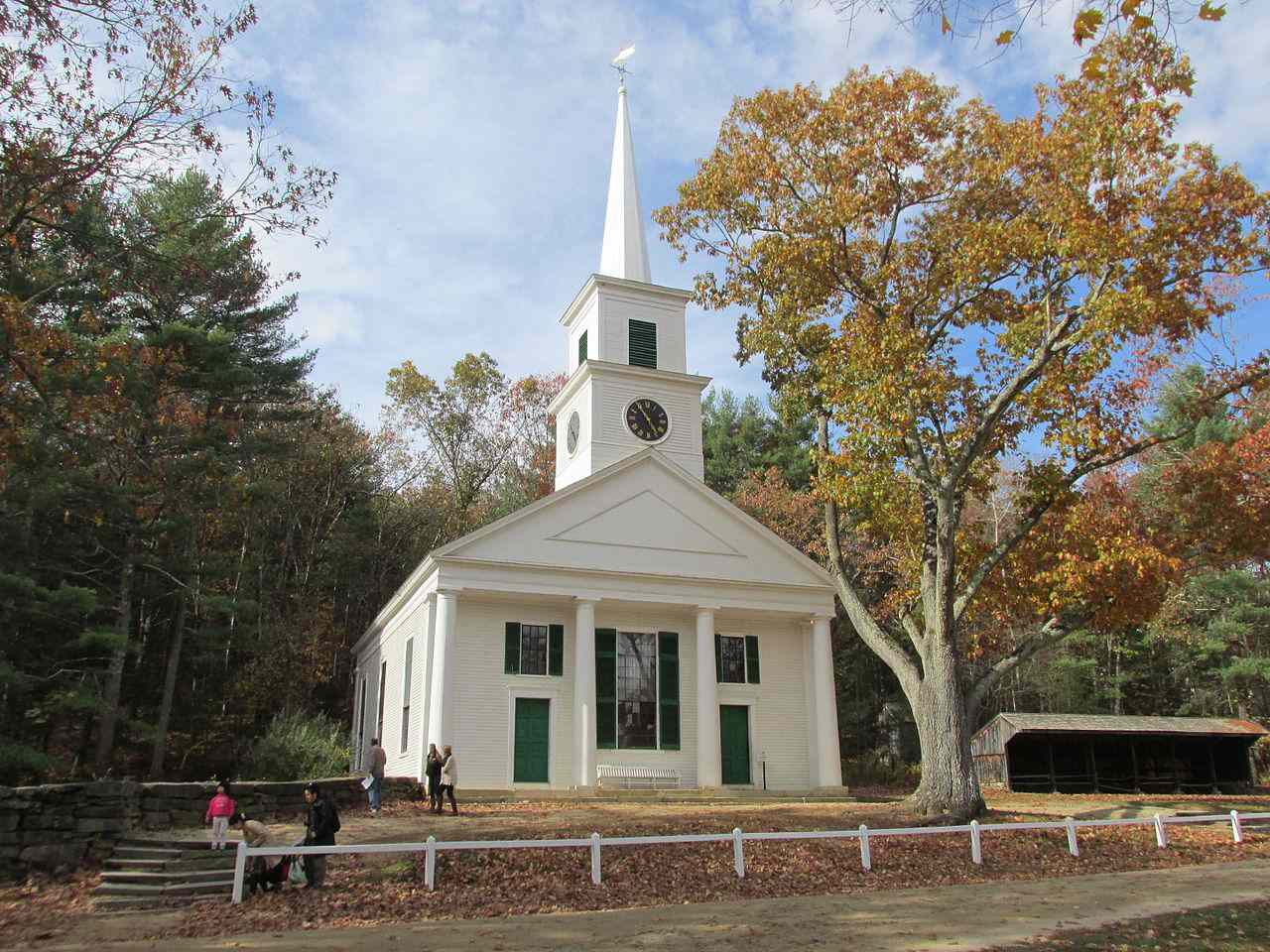 Center Meetinghouse, Old Sturbridge Village, Massachusetts