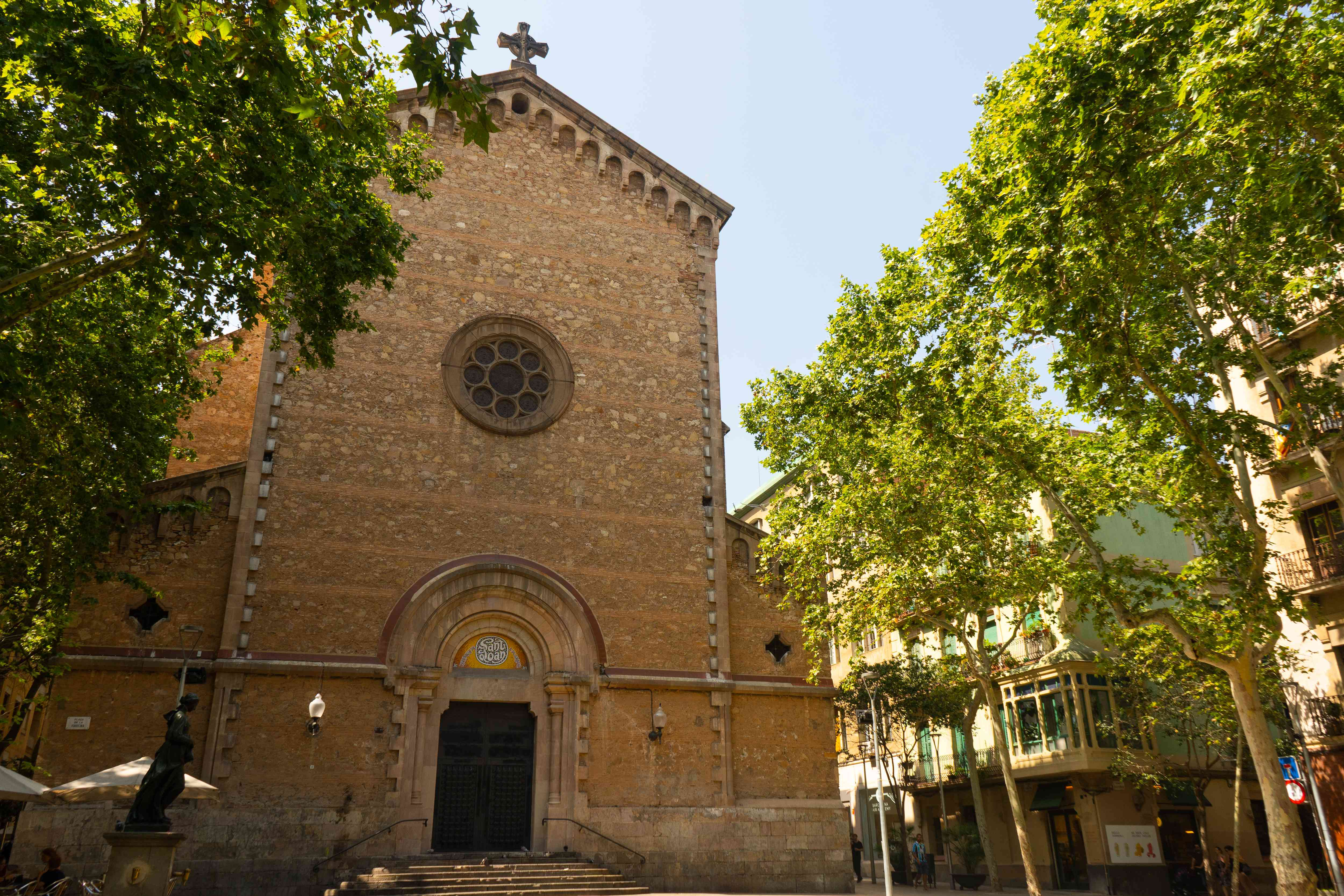 Plaça de la Virreina in Barcelona