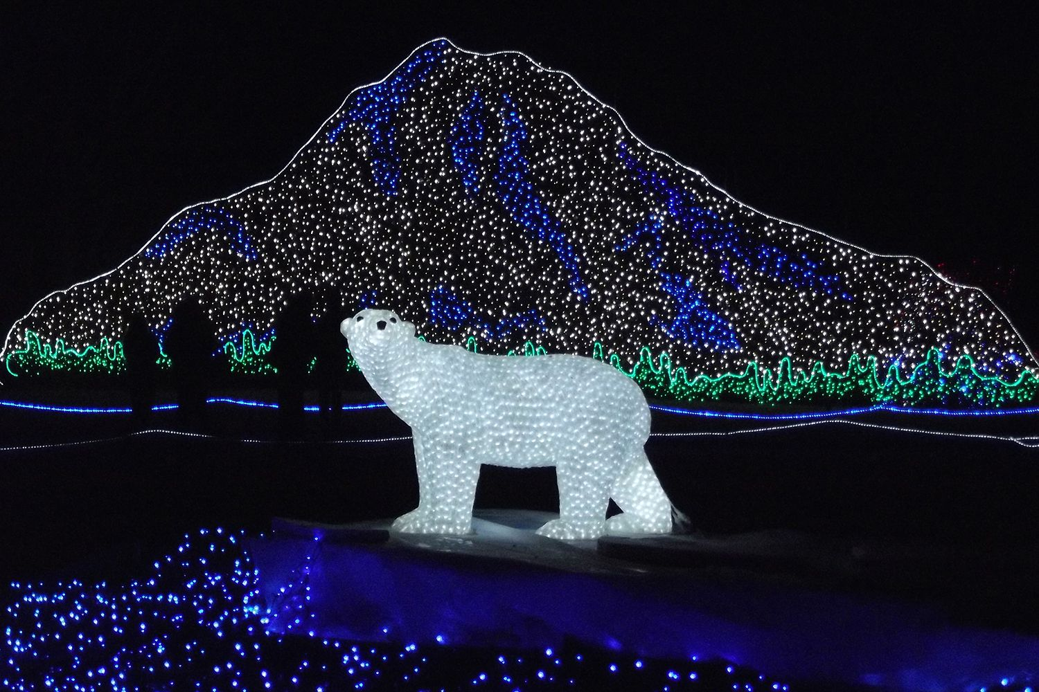 Zoolights Tacoma at Point Defiance Zoo