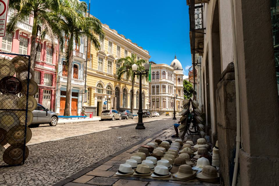 The Old Town of Recife, Pernambuco state, Brazil
