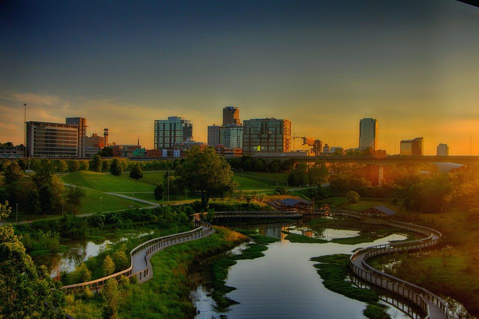 skyline Little Rock Arkansas