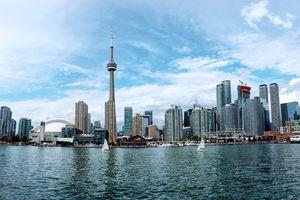 Waterfront view of Toronto