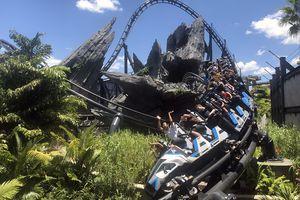 Jurassic World VelociCoaster Universal Orlando