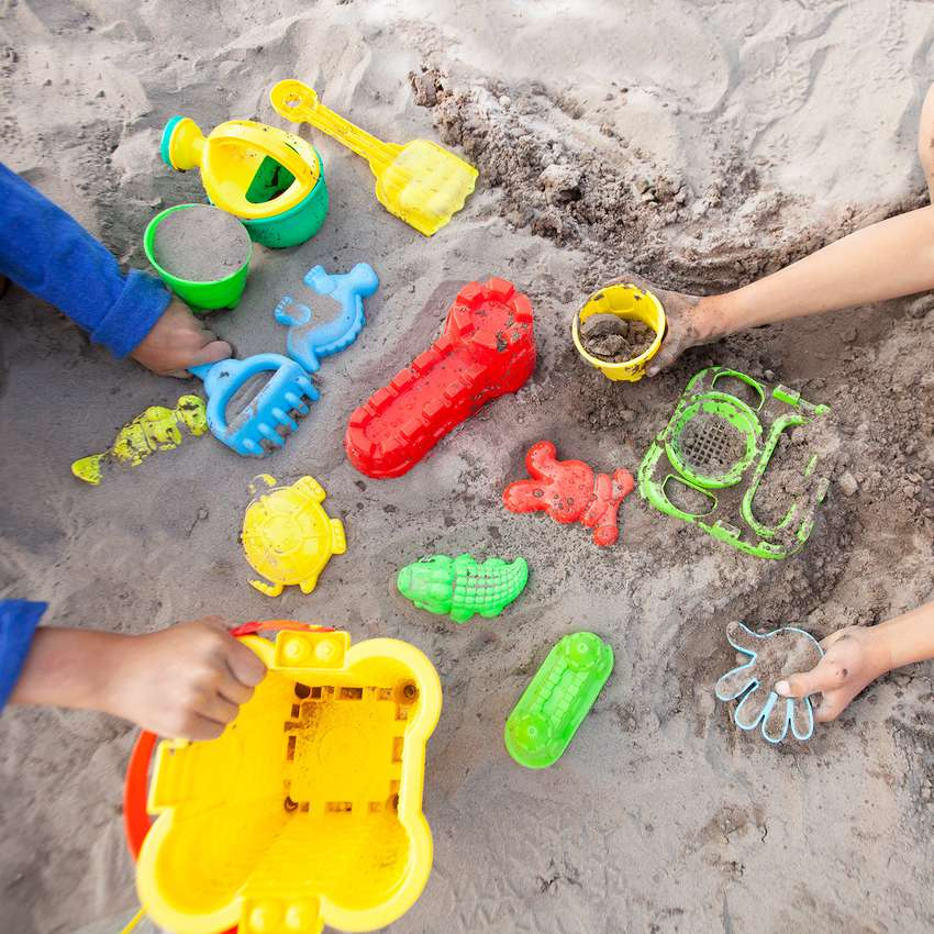 FoxPrint Beach Sand Toys Set