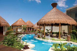 Dreams Riviera Cancun resort and spa gazebos and pool