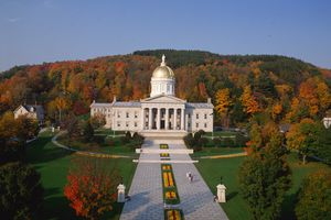 Vermont State Capitol in Montpelier VT