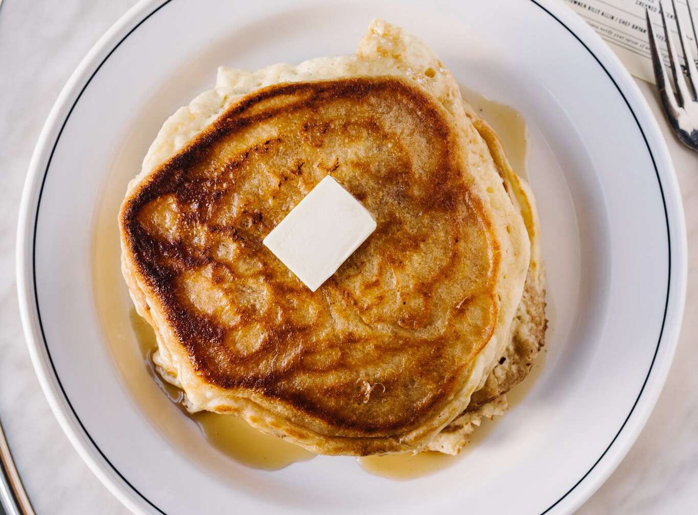 Pancakes at Bread & Butterfly