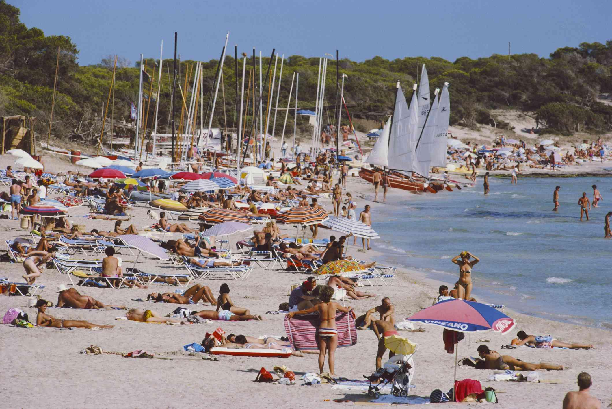 Beach, St Tropez, France