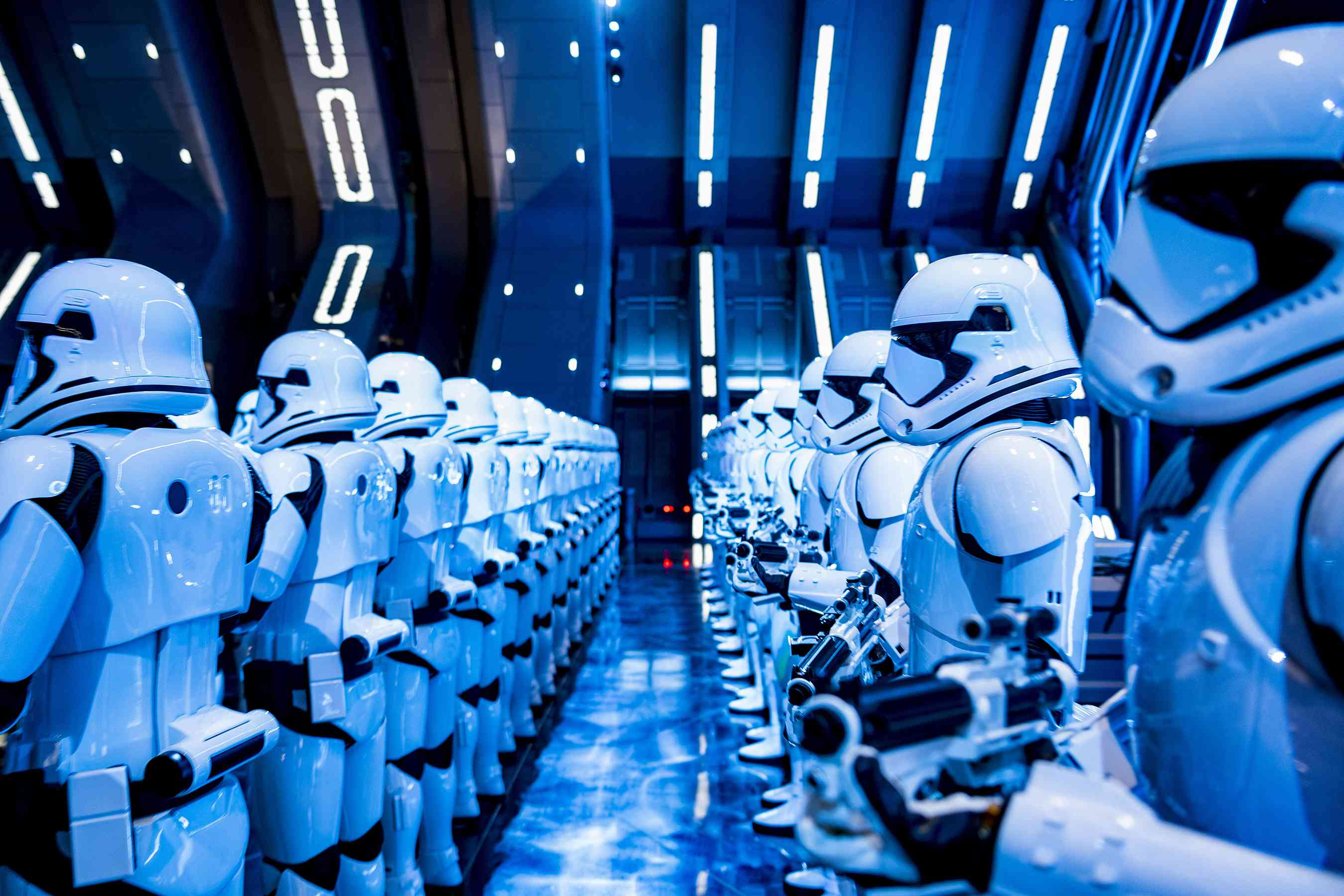 Stormtroopers en Star Wars- Rise of the Resistance