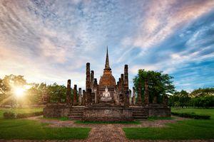 Big Buddha at Sukhothai Historical Park, Sukhothai, Thailand