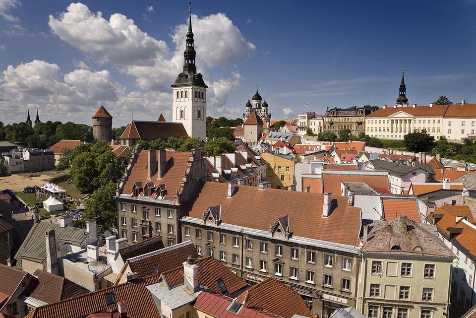 Old town. Tallin, Estonia.