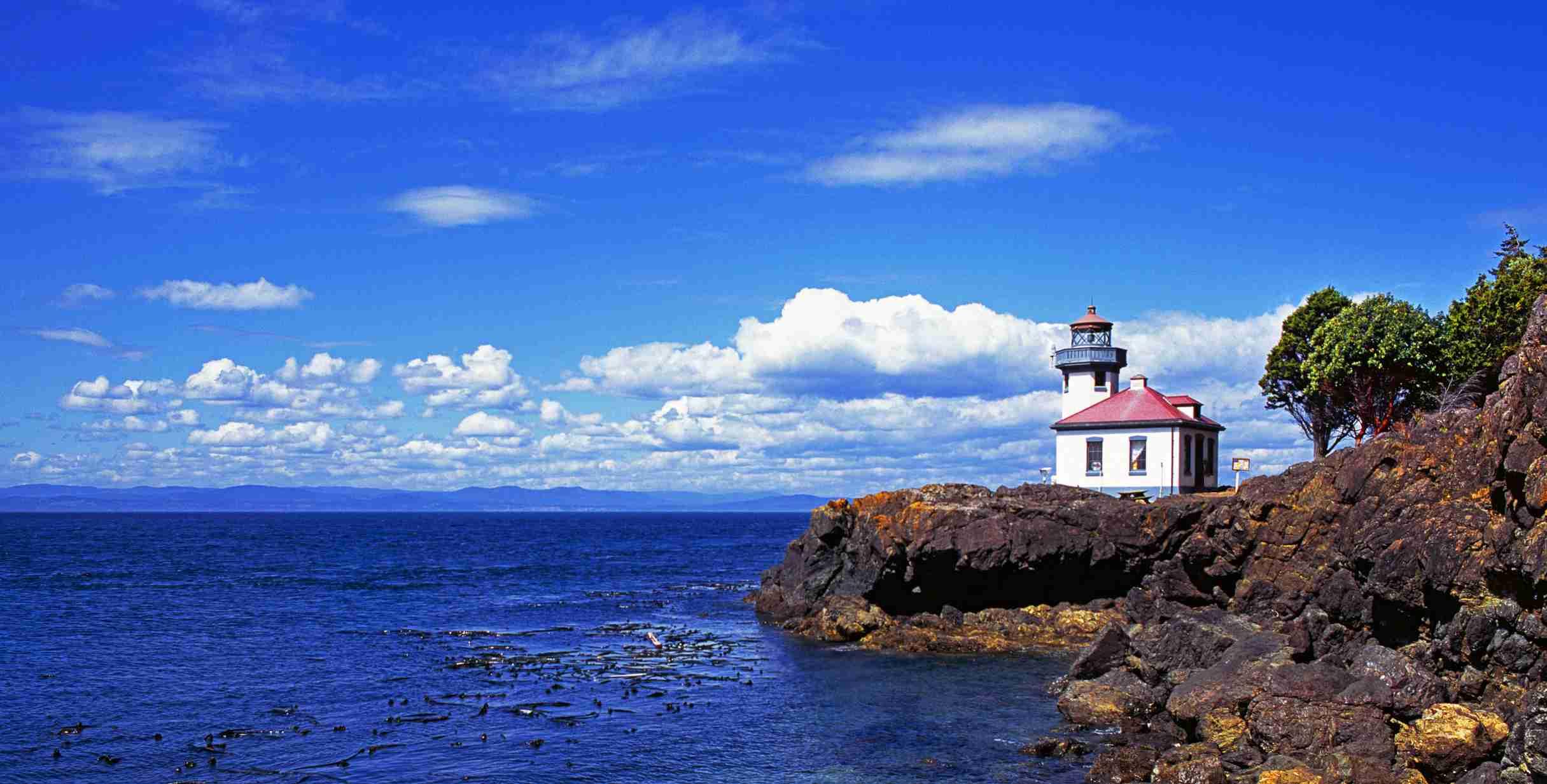 A lighthouse on Puget Sound