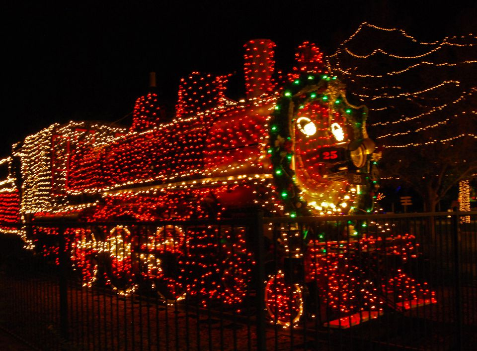 Holiday Lights at McCormick-Stillman Railroad Park