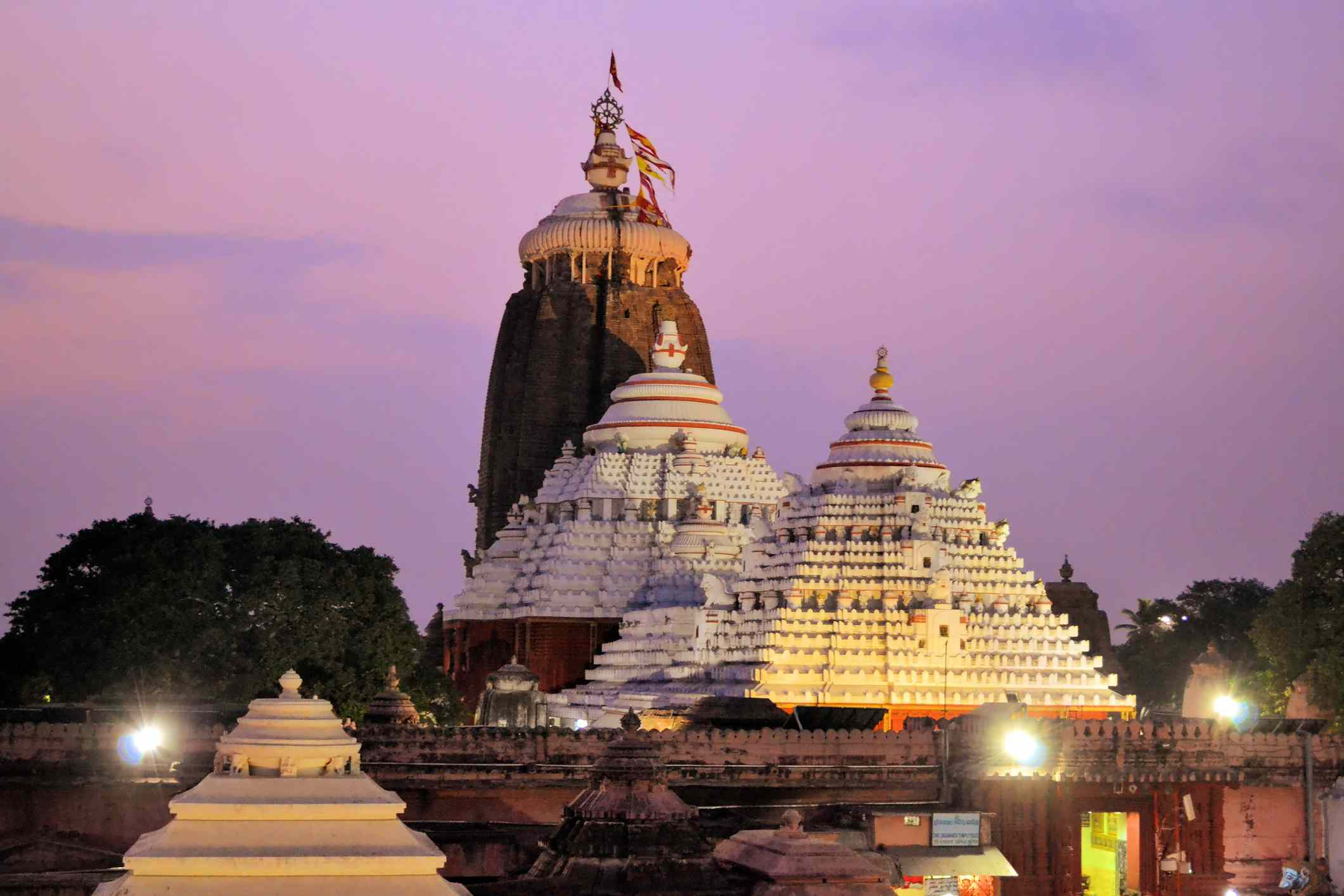 Puri temple.