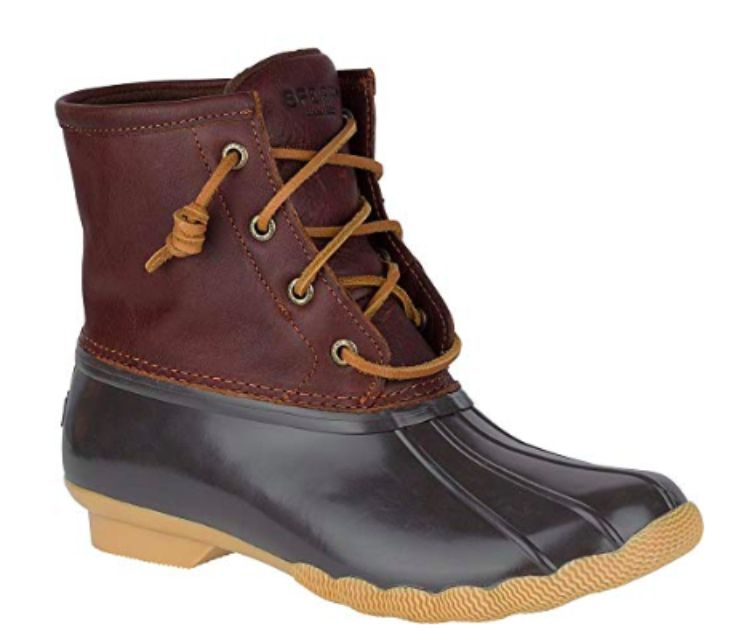 b96fbb84f Best Overall: Sperry Saltwater Duck Boots. Sperry Women's Saltwater Boot