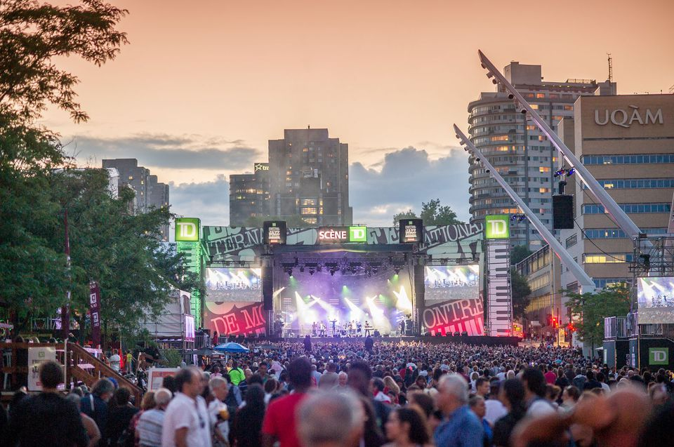 Montreal Jazz Festival in June
