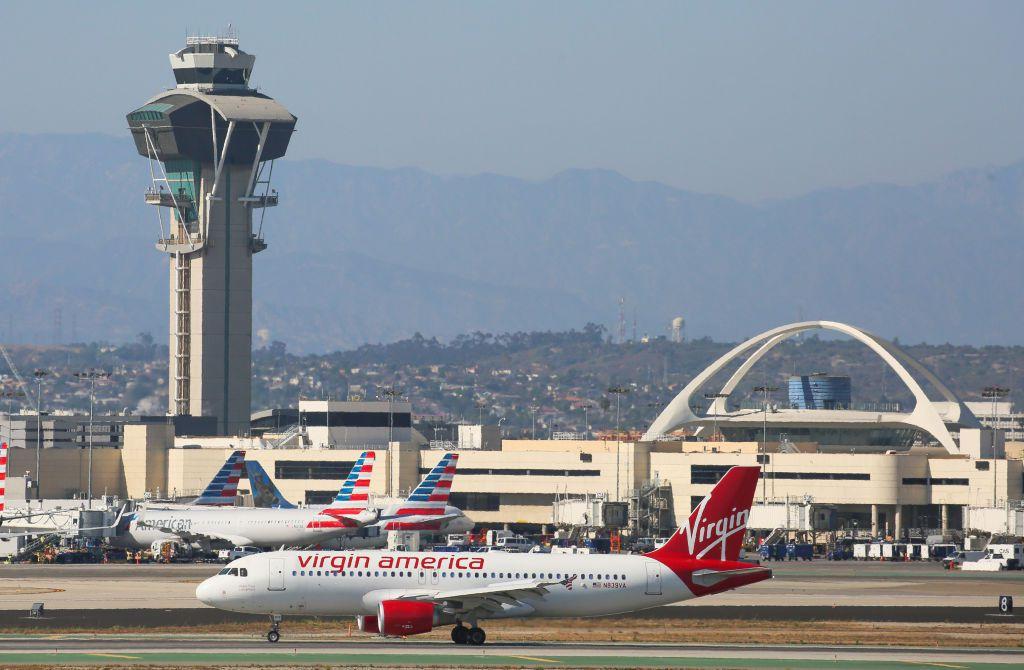 Virgin Airlines jet