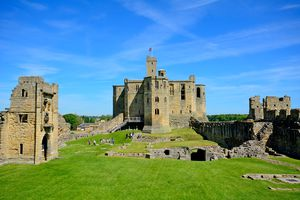 Castle, Warkworth, England
