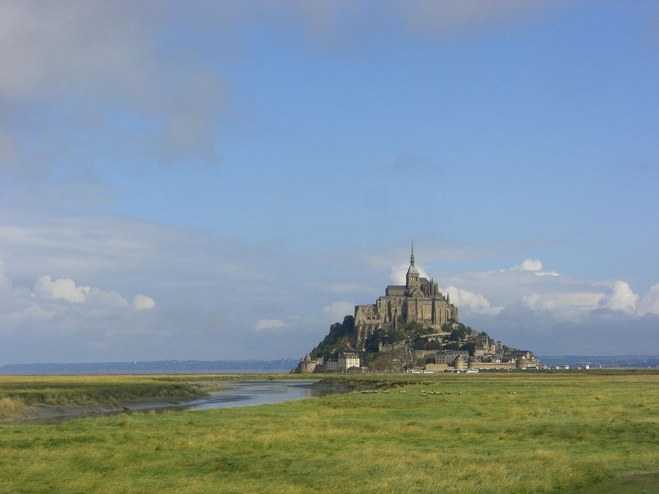 Mont St Michel in Normandy is a UNESCO World Heritage Site.