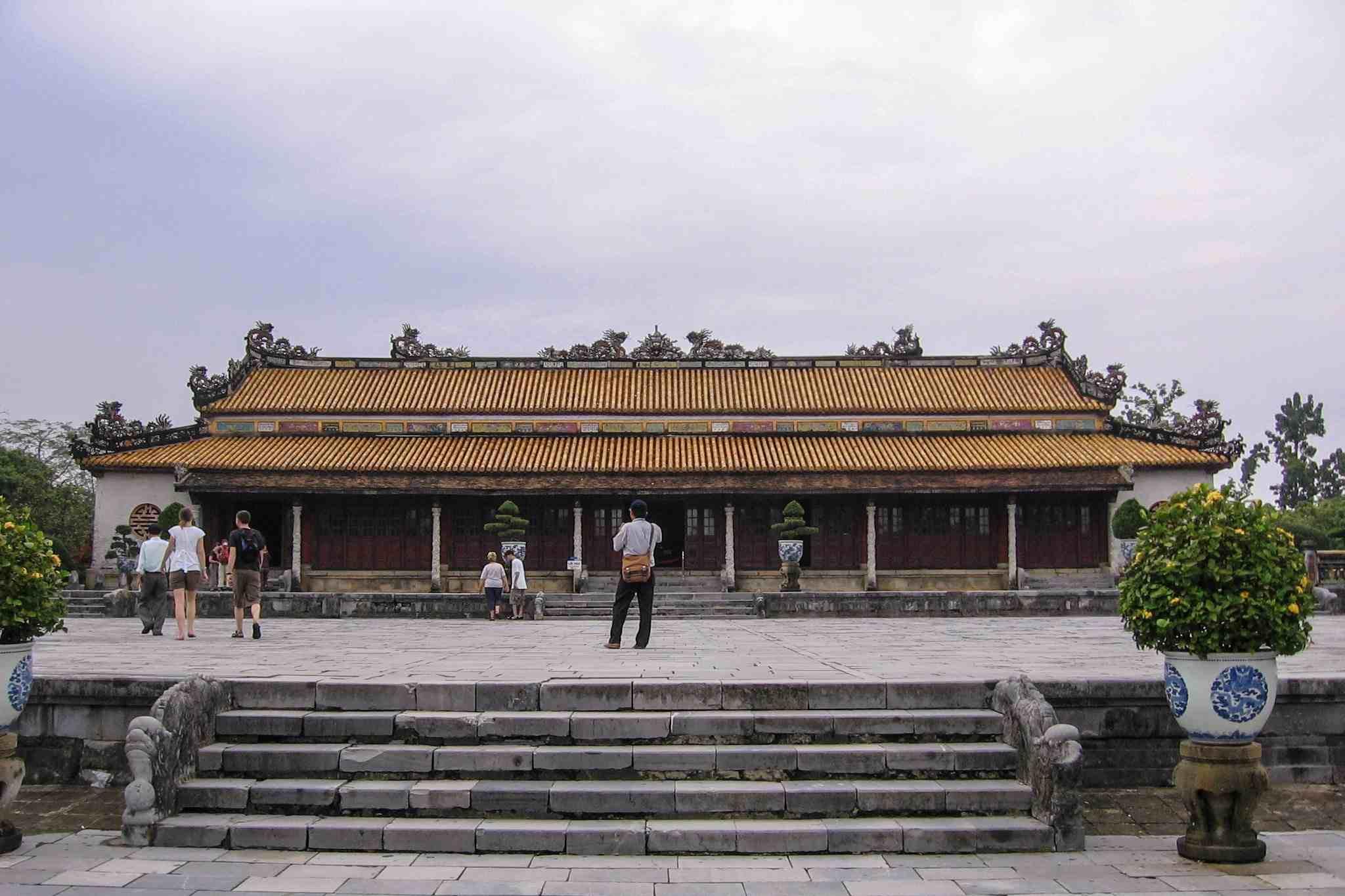Palace of Supreme Harmony, Hue Citadel, Vietnam.