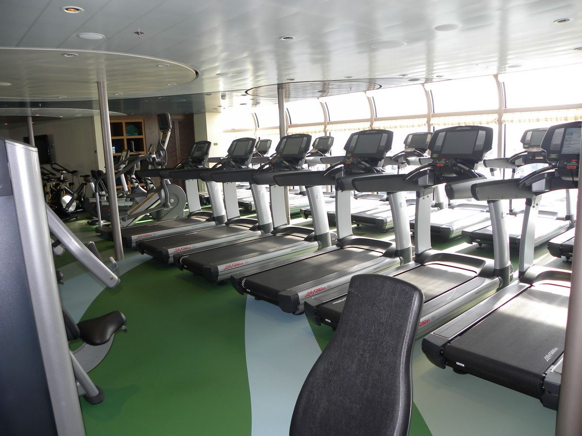 Disney Dream Fitness Center