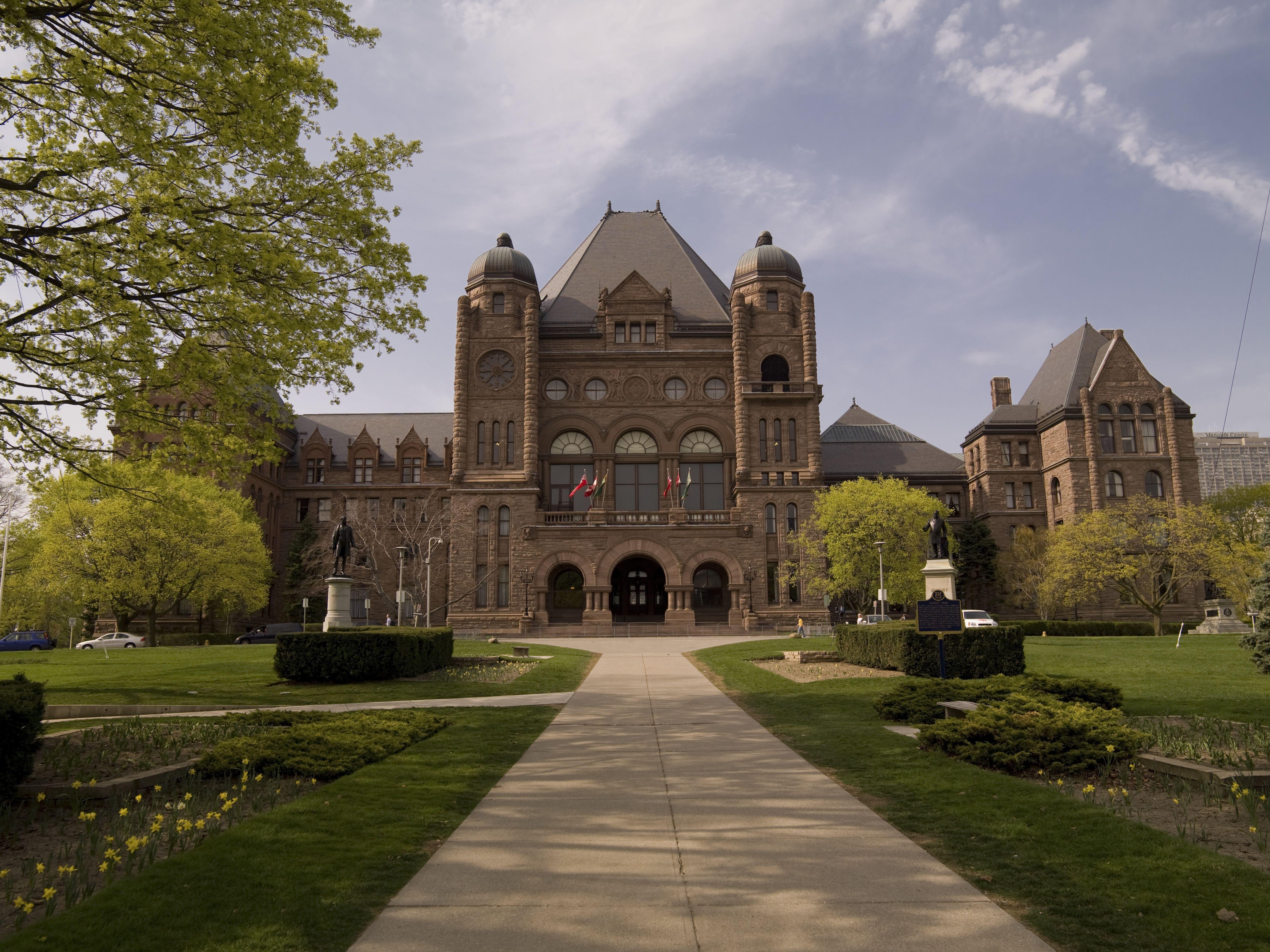 Legislative building, Toronto, Ontario, Canada