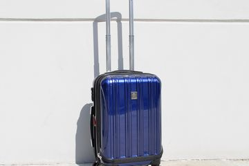 """Delsey AERO 19"""" Carry-on Expandable Rolling Luggage"""