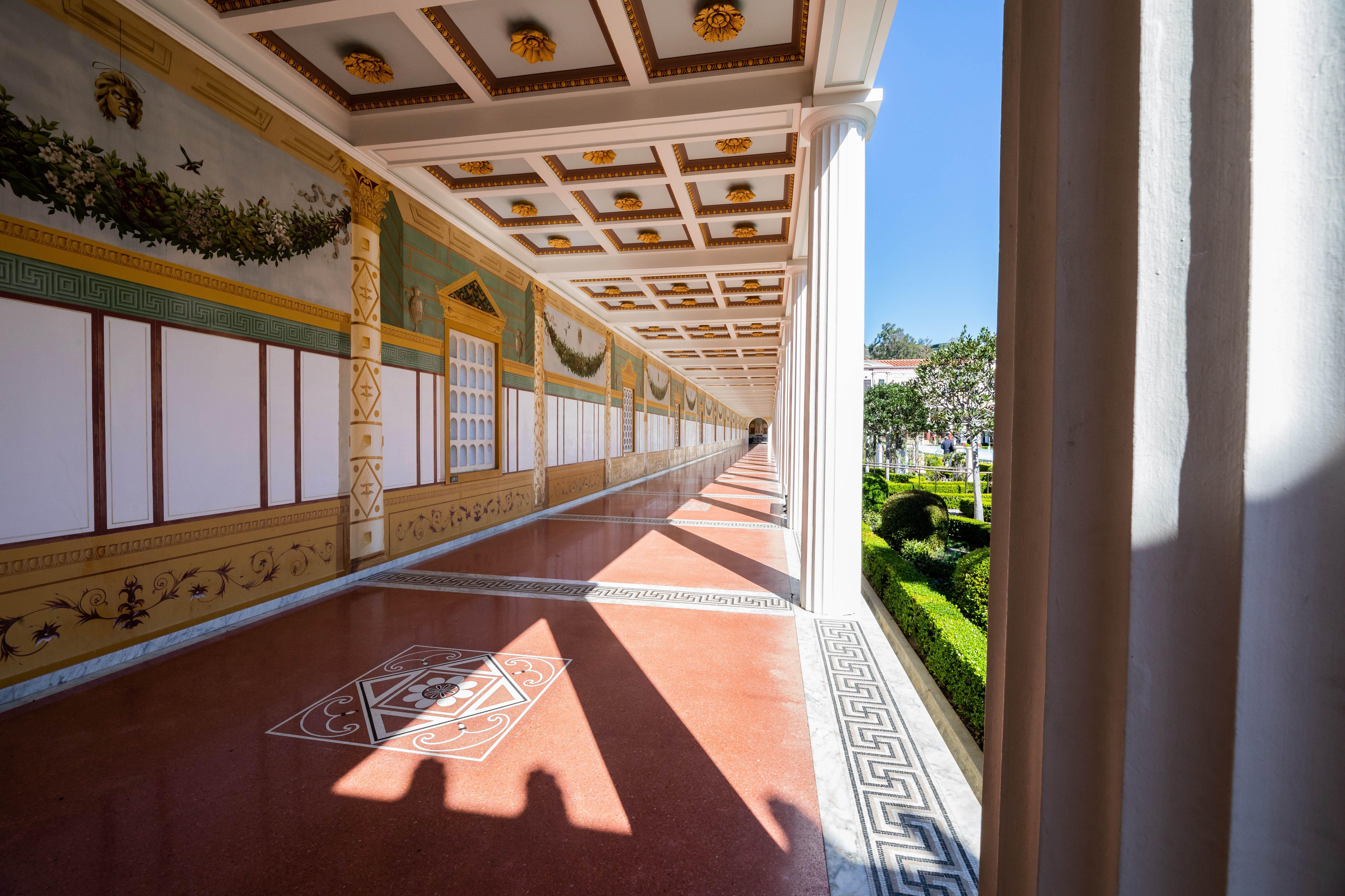 Getty Villa Architecture of The Villa