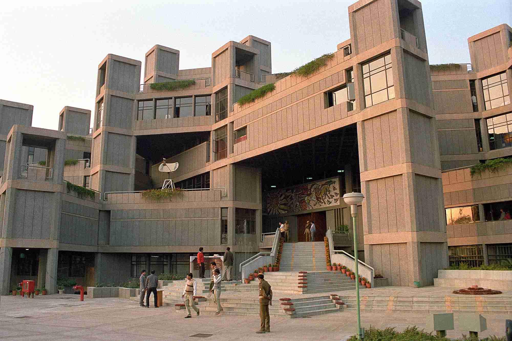 National Science Center entrance
