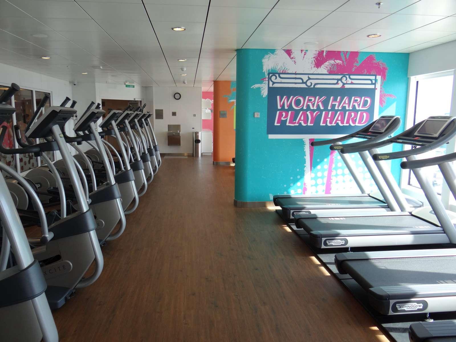 Norwegian Getaway Fitness Center