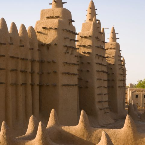 Djenne Grand Mosque, Mali