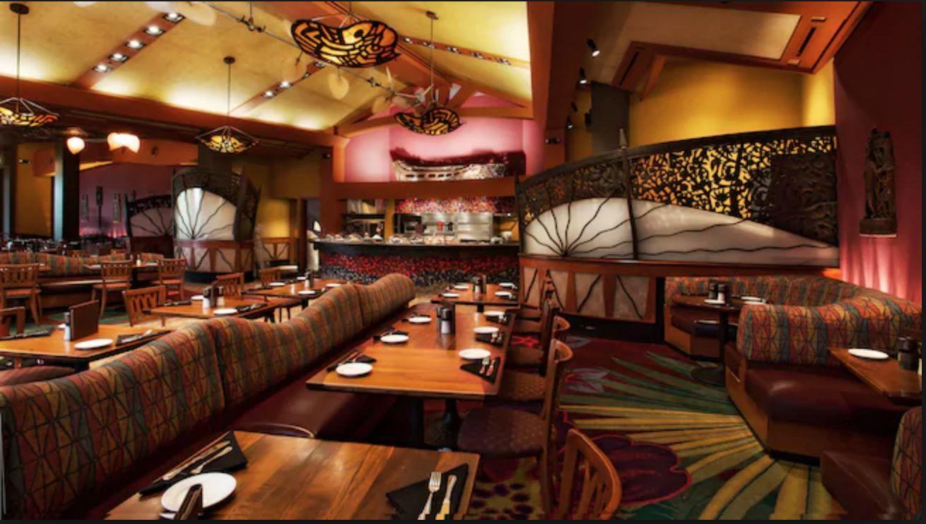 Kona Cafe at Disney's Polynesian Resort